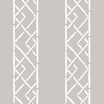 Picture of Latticework Platinum Wallpaper by Sarah Richardson
