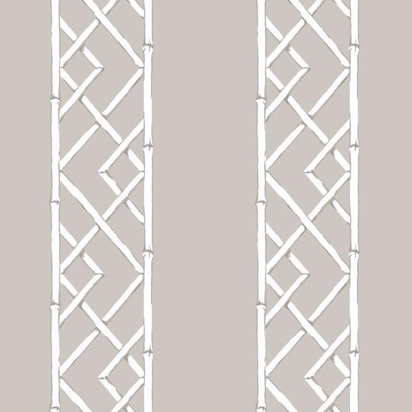 Picture of Latticework Platinum Wallpaper by Sarah Richardson