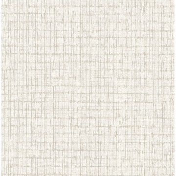 Picture of Linen Palm Weave Wallpaper by Sarah Richardson