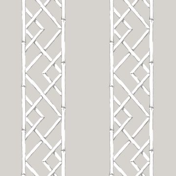 Picture of Latticework Sterling Wallpaper by Sarah Richardson