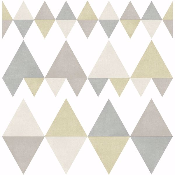 Picture of Trilogy Sage Geometric Wallpaper