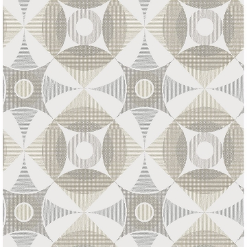 Picture of Ellis Brown Geometric Wallpaper