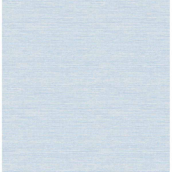 Picture of Agave Blue Grasscloth Wallpaper