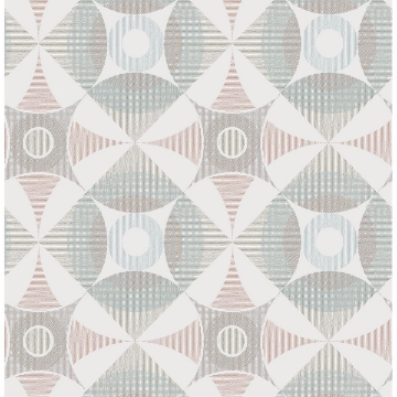 Picture of Ellis Multicolor Geometric Wallpaper