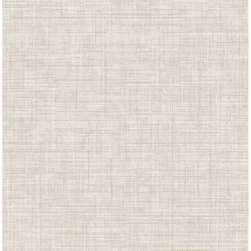 Picture of Mendocino Beige Linen Wallpaper