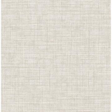 Picture of Mendocino Beige Linen Wallpaper