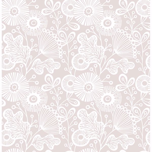 Picture of Ana Rose Floral Wallpaper