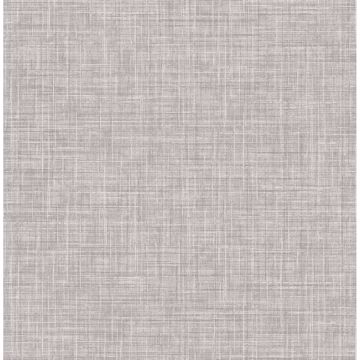 Picture of Mendocino Grey Linen Wallpaper