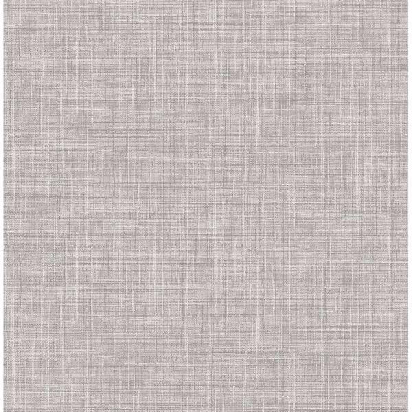 Picture of Mendocino Grey Linen Wallpaper