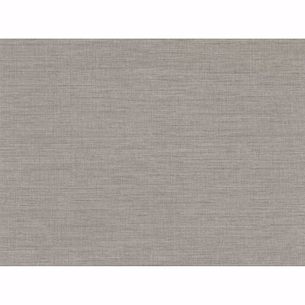 Picture of Essence Grey Linen Texture Wallpaper