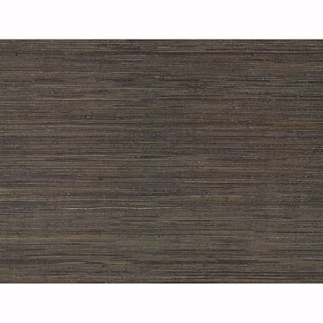 Picture of Shandong Chocolate Grasscloth Wallpaper