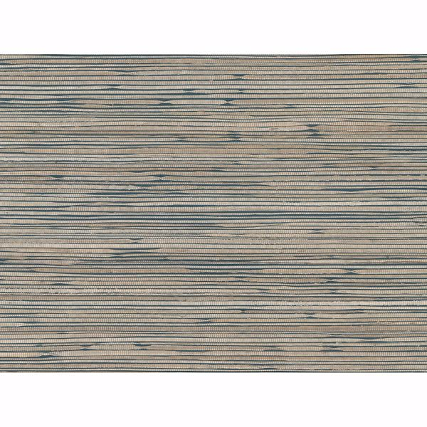Picture of Ranong Champagne Grasscloth Wallpaper