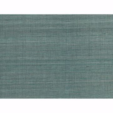 Picture of Laem Teal Grasscloth Wallpaper