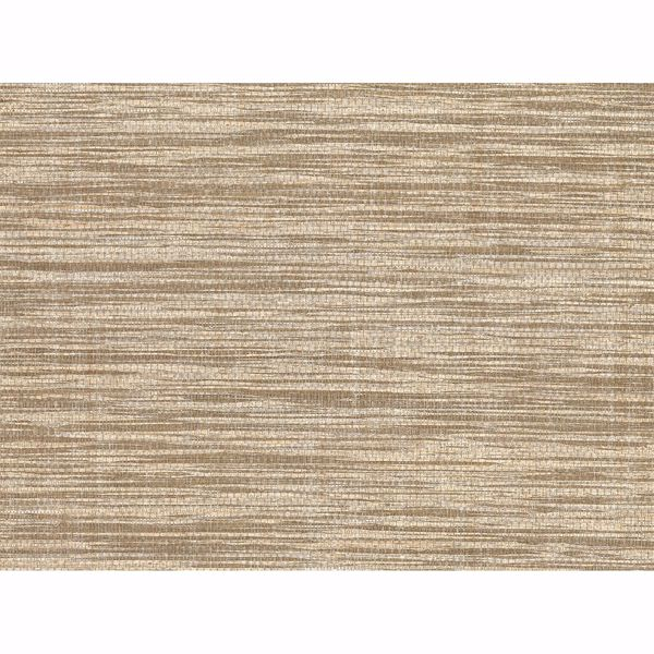 Picture of Cavite Brown Grasscloth Wallpaper