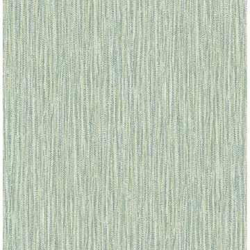 Picture of Raffia Thames Green Faux Grasscloth Wallpaper