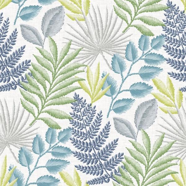 Picture of Palomas Multicolor Botanical Wallpaper