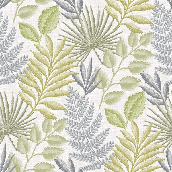 Picture of Palomas Grey Botanical Wallpaper