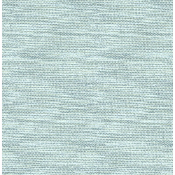Picture of Agave Bliss Teal Faux Grasscloth Wallpaper