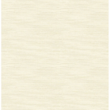 Picture of Agave Bliss Light Yellow Faux Grasscloth Wallpaper