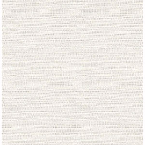 Picture of Agave Bliss Light Grey Faux Grasscloth Wallpaper