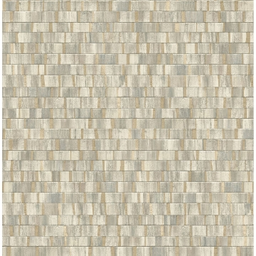 Picture of Dobby Gold Geometric Wallpaper