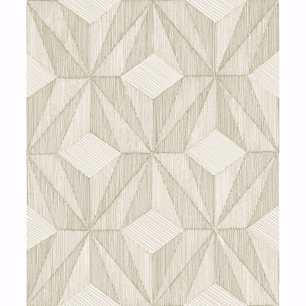 Picture of Paragon Gold Geometric Wallpaper