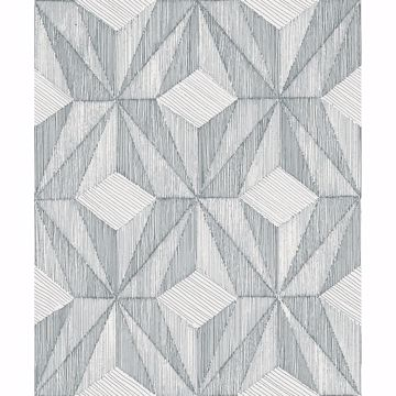 Picture of Paragon Slate Geometric Wallpaper