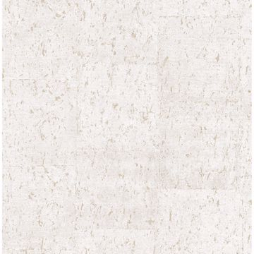 Picture of Millau Eggshell Faux Concrete Wallpaper