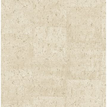 Picture of Millau Cream Faux Concrete Wallpaper