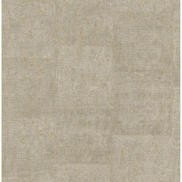 Picture of Millau Khaki Faux Concrete Wallpaper