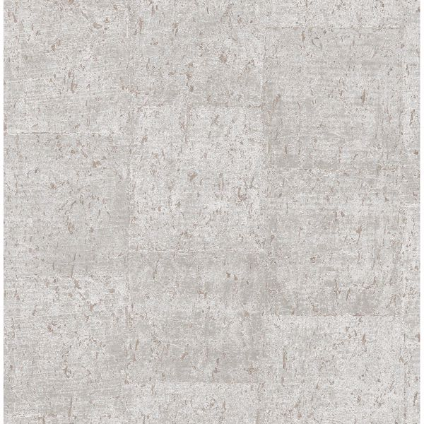Picture of Millau Light Grey Faux Concrete Wallpaper
