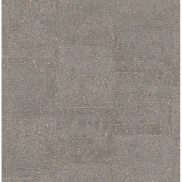 Picture of Millau Taupe Faux Concrete Wallpaper