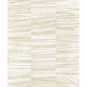 Picture of Lithos Light Yellow Geometric Marble Wallpaper