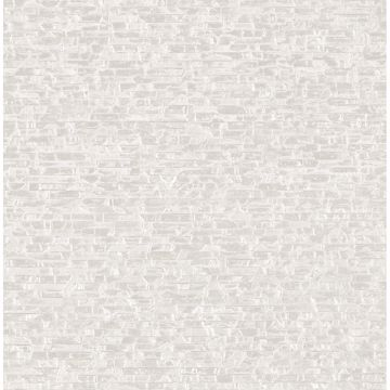 Picture of Belvedere Ivory Faux Slate Wallpaper