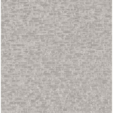 Picture of Belvedere Grey Faux Slate Wallpaper
