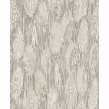 Picture of Monolith Grey Abstract Wood Wallpaper