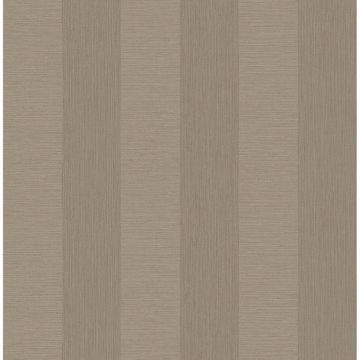 Picture of Intrepid Beige Faux Grasscloth Stripe Wallpaper