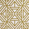 Picture of Helios Mustard Geometric Wallpaper