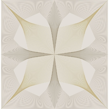 Picture of Radius Off-White Geometric Wallpaper
