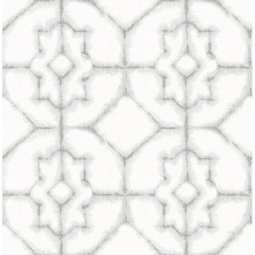 Picture of Verandah Grey Shibori Wallpaper