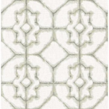 Picture of Verandah Moss Shibori Wallpaper