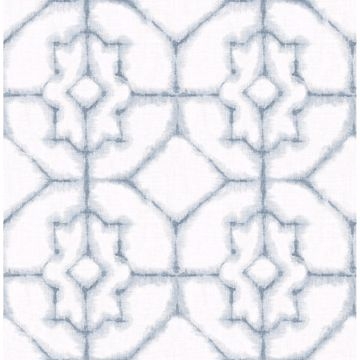Picture of Verandah Light Blue Shibori Wallpaper