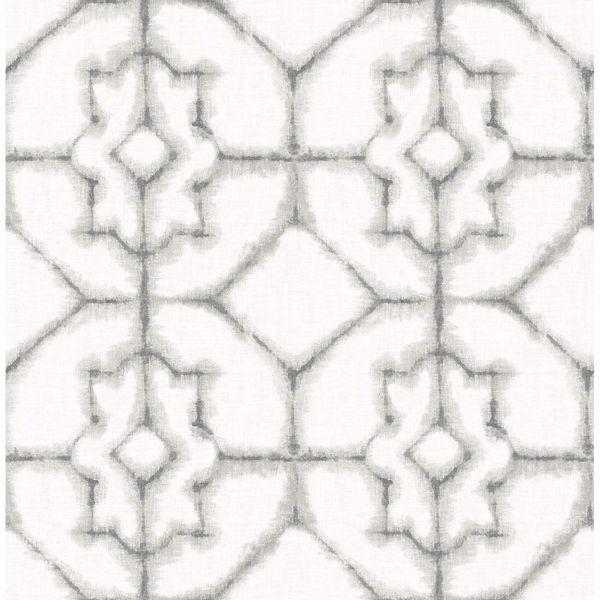 Picture of Verandah Off-White Shibori Wallpaper