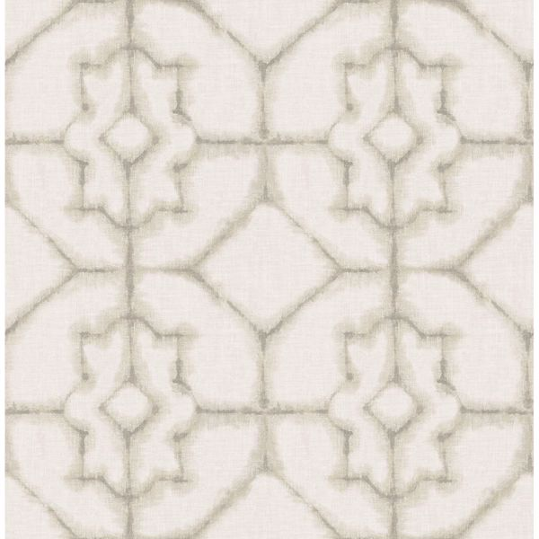 Picture of Verandah Beige Shibori Wallpaper