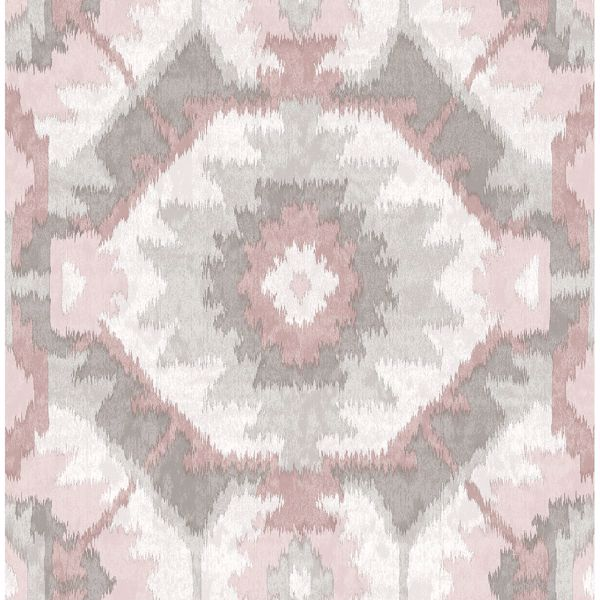 Picture of Kazac Light Pink Shibori Wallpaper