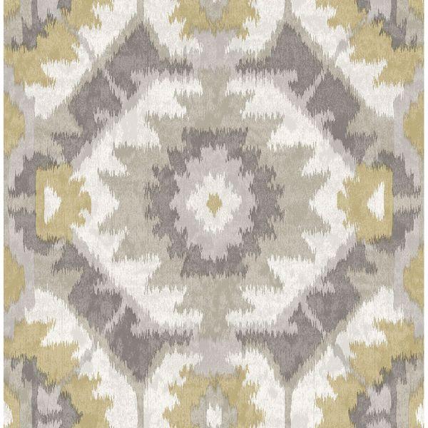 Picture of Kazac Grey Shibori Wallpaper
