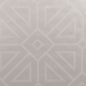 Picture of Voltaire Platinum Geometric Wallpaper