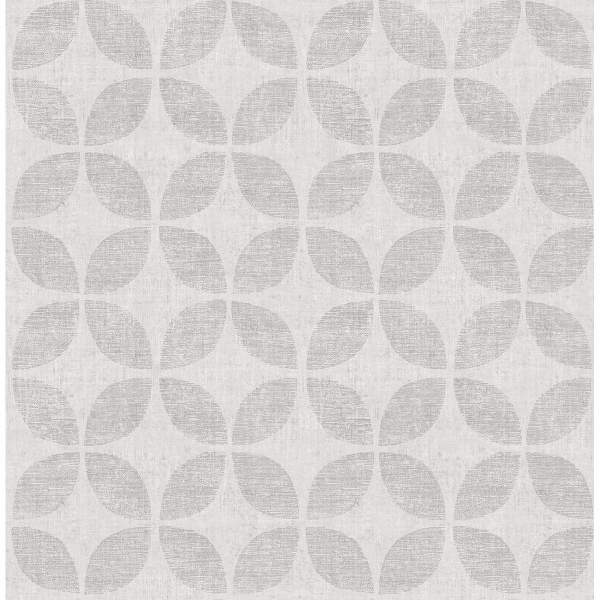 Picture of Polaris Silver Geometric Wallpaper