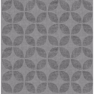 Picture of Polaris Blue Geometric Wallpaper