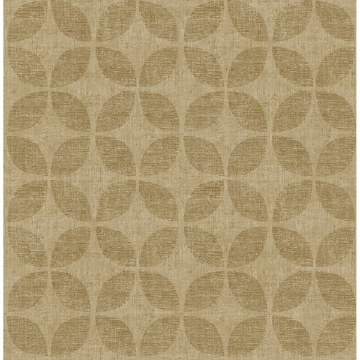 Picture of Polaris Gold Geometric Wallpaper